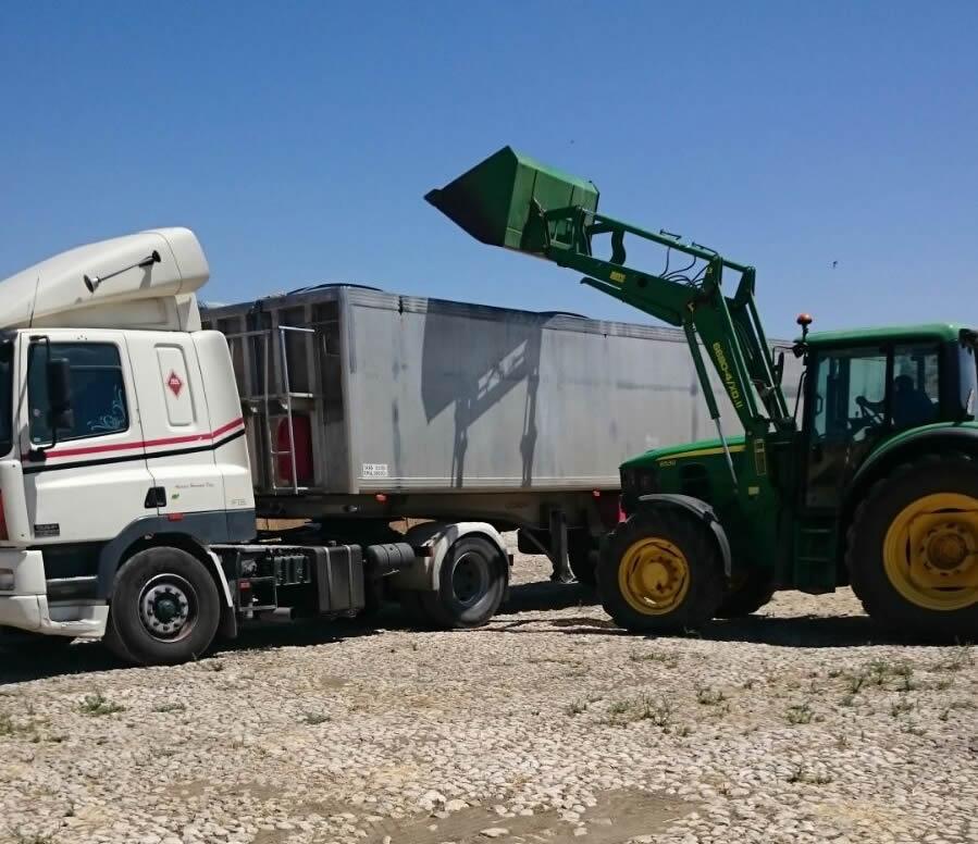 Transporte agrícola
